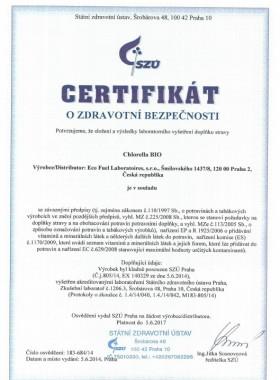 Маска Хлорелла Документ №1