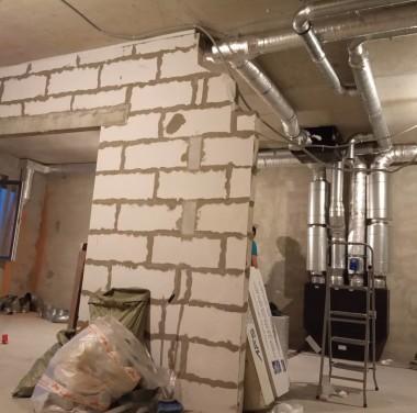 Установка вентиляционных систем Фотоматериалы нашей работы Фото №5
