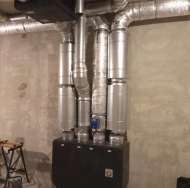 Установка вентиляционных систем Фотоматериалы нашей работы Фото №4
