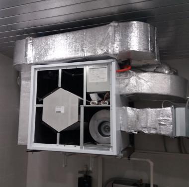 Установка вентиляционных систем Фотоматериалы нашей работы Фото №3