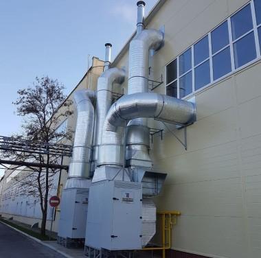 Установка вентиляционных систем Фотоматериалы нашей работы Фото №1