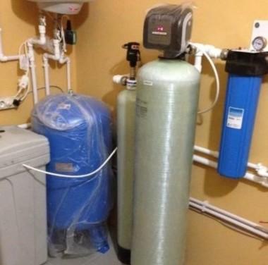 Установка систем по очистке воды Фотоматериалы нашей работы Фото №1