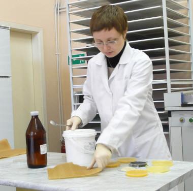 Микробиологический анализ пыли (взвешенных веществ) и других материалов Фотоматериалы нашей работы Фото №6