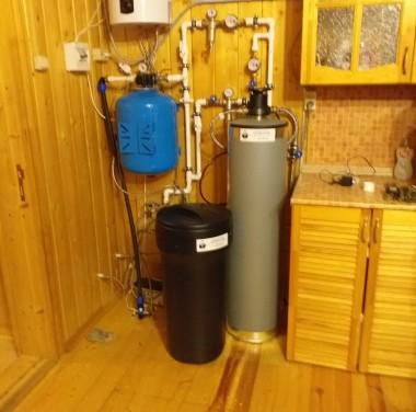 Установка систем по очистке воды Фотоматериалы нашей работы Фото №3