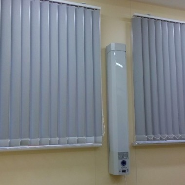 Жалюзи вертикальные рентгенозащитные №1 фото