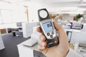 Измерение микроклимата и освещения