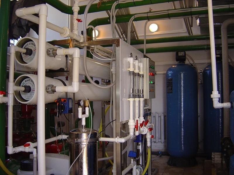 Система очистки воды на предприятиях фото