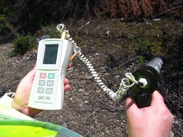 Измерение и контроль радиационного фона фото