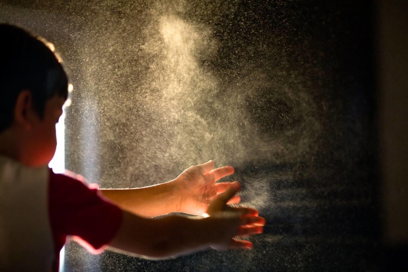 Опасность пыли и других взвешенных частиц фото