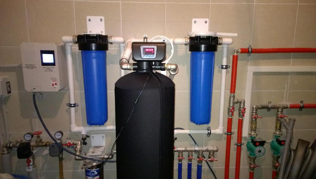 Система очистки воды для домов и квартир фото