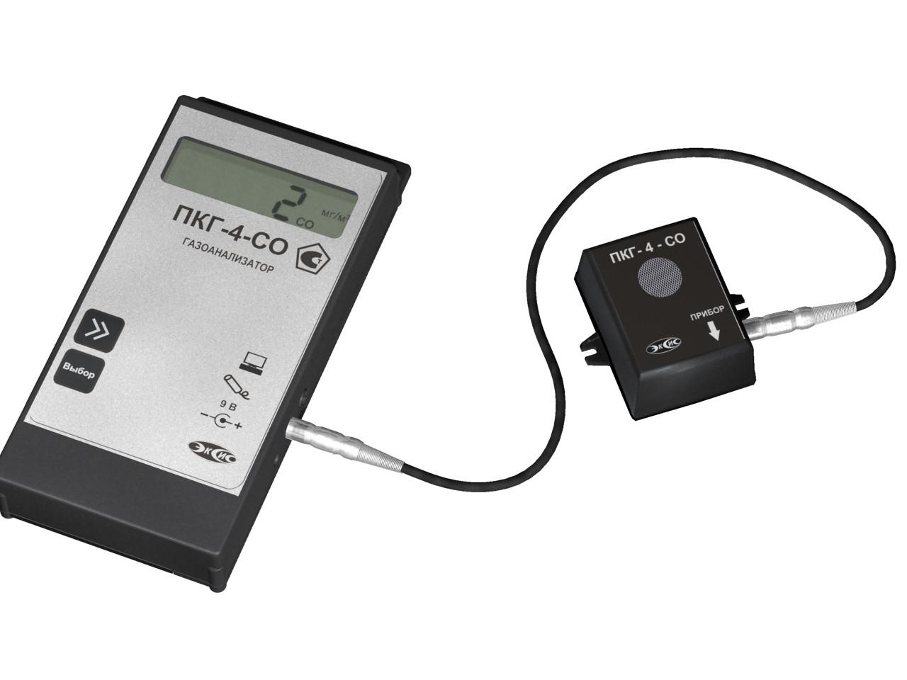 Измерение угарного газа, диоксида углерода и кислорода фото